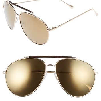 A.J. Morgan Skyward 61mm Aviator Sunglasses | Nordstrom