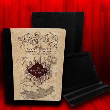 Harry Potter Inspired The Marauders Map Leather by CustomizeMeAz