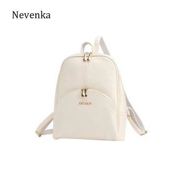 Nevenka Leather Backpacks