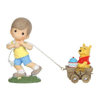 Hunny Of A Day - Christopher Robin And Winnie The Pooh Age 1 - Precious Moments