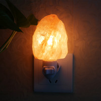 Natural Himalayan Wall Salt Night Light Nursery Lamp Mini Decorative Crystal Night light Lighting Salt lamp with US plug