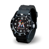 Miami Marlins MLB Spirit Series Mens Watch