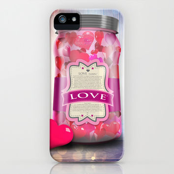 """Soul Purpose"" Collection Love in Color / Mason Jar Art iPhone & iPod Case by soaring anchor designs ⚓ 
