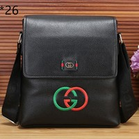 GUCCI 2019 new men's casual business style wild fashion briefcase #2