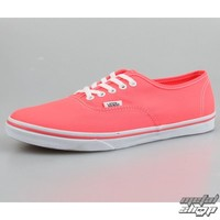 boots VANS - Authentic Lo For (Neon) - Coral - VQES7N1 - metal-shop.eu