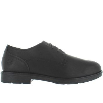 CREYONIG Timberland Earthkeepers Carter Oxford Notch - Waterproof Black Leather Oxford