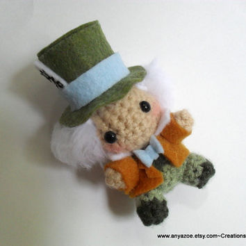Mad Hatter Amigurumi by AnyaZoe on Etsy