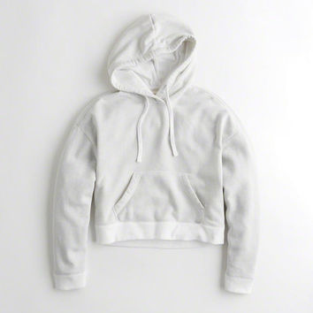 Girls Shine Boxy Hoodie | Girls Tops | HollisterCo.com