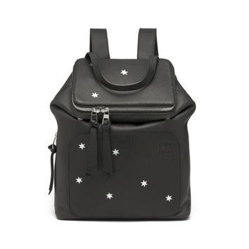 Loewe Goya Stars Small Backpack - Black Calf Leather Backpack