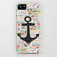 Anchor iPhone Case by Berreca | Society6