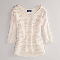 AE Textured Sweater | American Eagle Outfitters