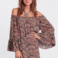 Desert Island Paisley Dress