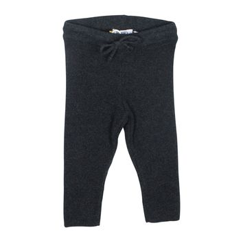 Kipp Unisex-baby' Charcoal Ribbed Leggings