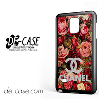 Floral Chanel 2 For Samsung Galaxy Note 4 Case Phone Case Gift Present YO