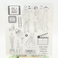 You are a star Transparent Clear Silicone Stamp/Seal for DIY scrapbooking/photo album Decorative clear stamp sheets