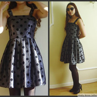 $33.00 80's Polka Dot Summer Dress by PrettyBonesJefferson
