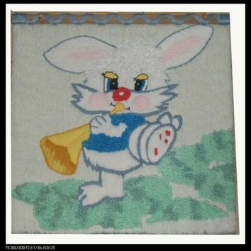 Handmade Art Tapestry Tapestry Wall Mural Decoration Classic Living Room Stereo Tapestry Of Rabbit