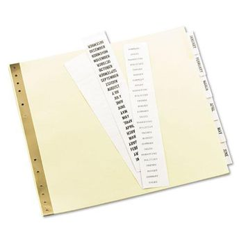 Avery® Insertable Clear Tab Dividers for Data Binders