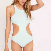 Out From Under Soothing Sea Cut-Out Swimsuit - Urban Outfitters