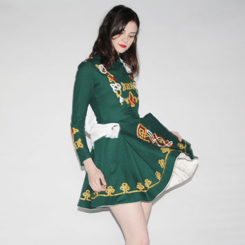 Vintage 1970s Irish Dance Costume
