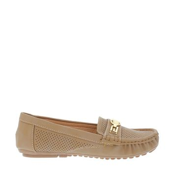 Slip On Boat Shoe (TAN)