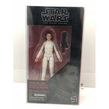 """Plastic Protector Cases Star Wars Black Series 6"""" Figure Princess Leia Bespin Escape"""