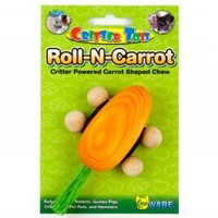 Ware Critter Toys Roll N Carrot