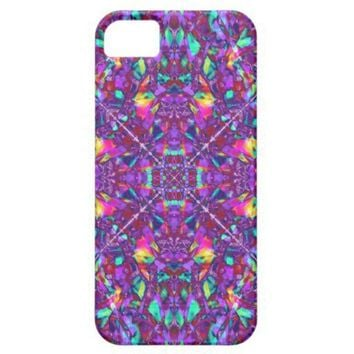 Purple Mandala Hippie Pattern iPhone 5 Case from Zazzle.com