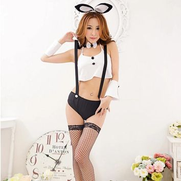 Bunny Sexy Costumes Girl Rabbit Cosplay Sexy Lingerie Suit Uniform Halloween Costumes for women