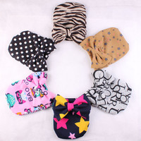 Fashion Knitted Cap Europe and the United States Gift Baby Female Cap Supply warm tires newborn hat 9colors hair accessories