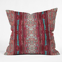 Ingrid Padilla Bleu Throw Pillow