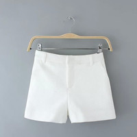 Summer Women's Fashion Casual Slim Pants Shorts [6034551873]