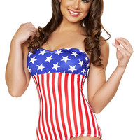 Trashy.com - Lingerie - panties - hosiery - swimsuit models - sexy lingerie - American Pin Up Swuimsuit