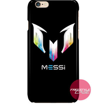 Lionel Messi FC Barcelona Logo iPhone Case Cover Series