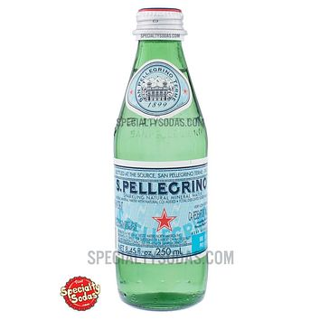 S. Pellegrino Sparkling Natural Mineral Water 250ml Glass Bottle