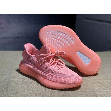 Adidas Yeezy Boost 350 V2 Pink Glow Sport Running Shoes - 36-46