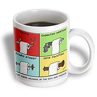 mug_2219_1 Londons Times Funny Music Cartoons - Toilet Paper Holders Of The Rich And Famous - Mugs - 11oz Mug