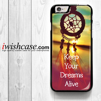 Dream Catcher Blue for iPhone 4 4S 5 5S 5C 6 6 Plus , iPod Touch 4 5  , Samsung Galaxy S3 S4 S5 S6 S6 Edge Note 3 Note 4 , and HTC One X M7 M8 Case
