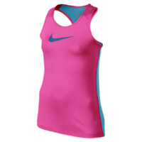 Nike Pro Core Fitted Girls' Tank Top Size XL (Pink)
