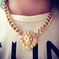 Lion Tamer Necklace