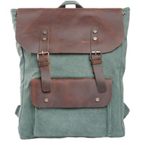 Lixmee leather canvas cute backpack