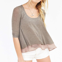 Kimchi Blue Sail Away Tiered Top - Urban Outfitters