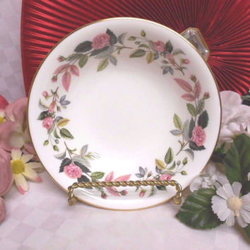Wedgwood China Dinnerware England Hathaway Rose Pattern # R4317 - Cereal Bowl