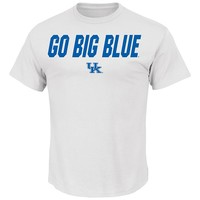 Section 101 by Majestic Kentucky Wildcats Big Ambition Tee