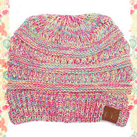 CC Four Color Mix Beanie
