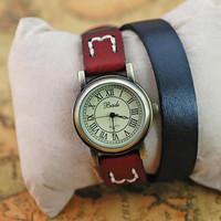 Double Wrap Watch