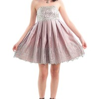 Vintage 90's Sequined Princess Mini - XS