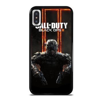 CALL OF DUTY BLACK OPS 3 iPhone X Case Cover