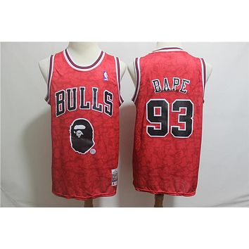 A Bathing Ape 93 x Bulls Swingman Jersey