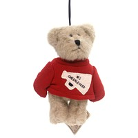 Boyds Bears Plush #1 Cheerleader Ornament Plush Ornament